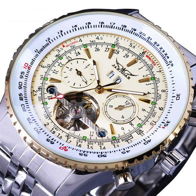 Flying Series Bezel Scale Dial Design Watch