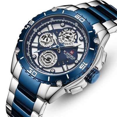 Fashion Watch Men Stainless Steel Sport Watches