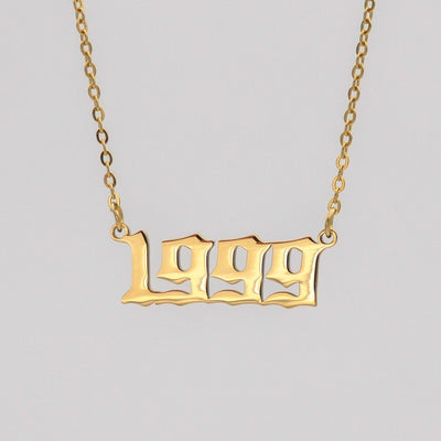 Birth-Year Necklace