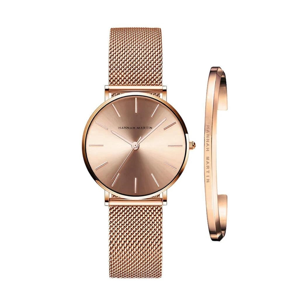 Women Watch Bracelet Japan Quartz Movement Waterproof  Watch