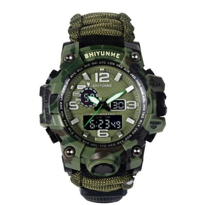 Men Camouflage Military Watch