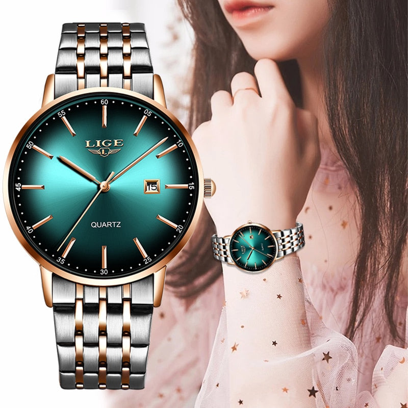 2020 LIGE Luxury Ladies Watch