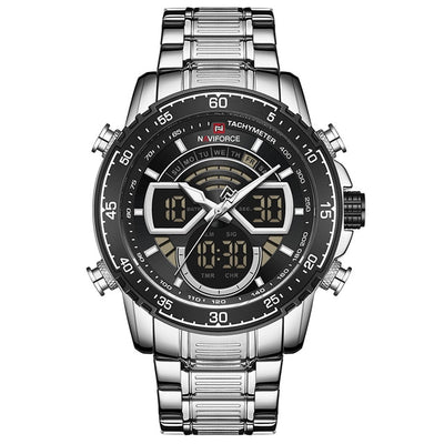 NAVIFORCE New Fashion Watches for Men Top Luxury Brand Sports Chronograph Quartz Watch Men Waterproof Clock Relogio Masculino