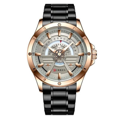 Watches Mens 2020 CURREN NEW Fashion Quartz stainless steel Watch Date and Week Clock Male Creative Wristwatch