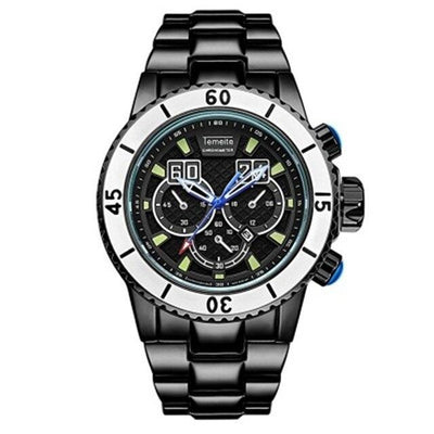 2020 Big Watch Men Stainless Steel Strap Fashion Oversize Mens Watches