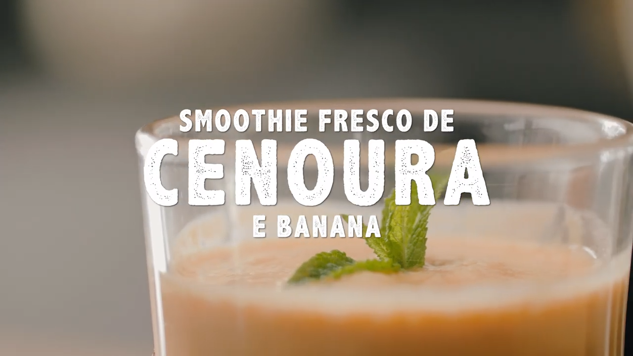Smoothie Fresco de Cenoura