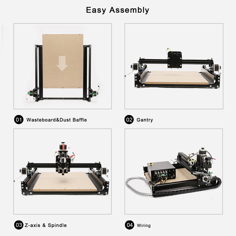 CNC Router Machine 4040-XE-06