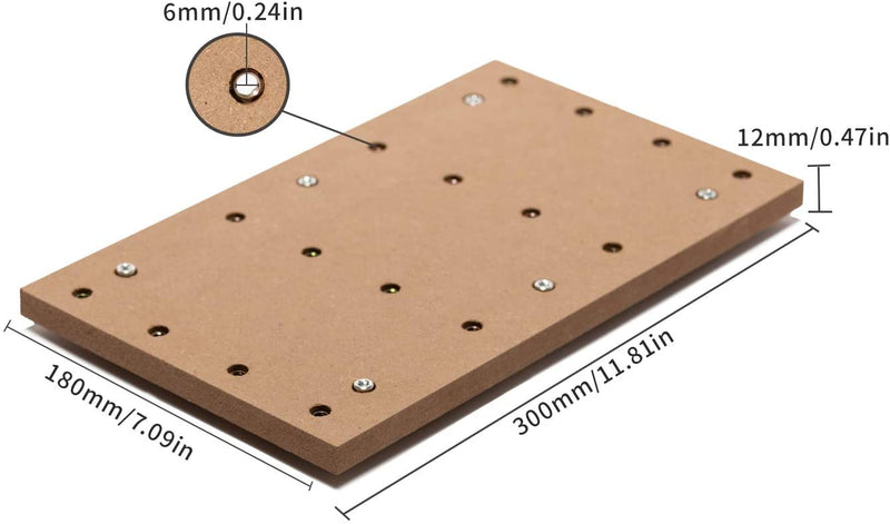 CNC MDF Spoilboard for 3018-SE CNC Router 04