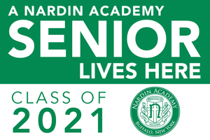 nardin academy senior lawn sign