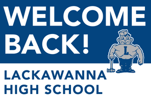 Lawn Sign - Welcome Back To School - Lackawanna