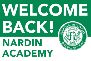 Lawn Sign - Welcome Back To School - Nardin