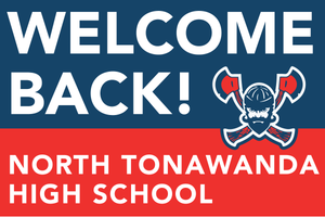 Lawn Sign - Welcome Back To School - North Tonawanda