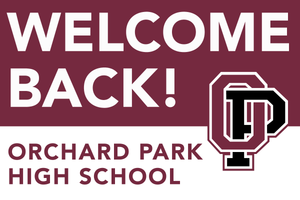 Lawn Sign - Welcome Back To School - Orchard Park