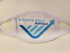 Bounce back buffalo cotton face mask/face cover