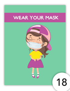 Wear your Mask (girl)