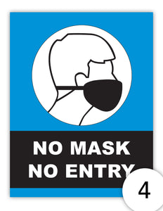 No Mask No Entry Version 4