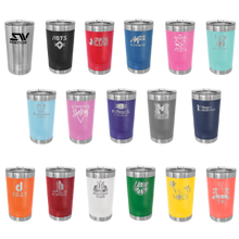 Load image into Gallery viewer, Colored 16 oz.Engravable Polar Camel Pint with Slider Lid