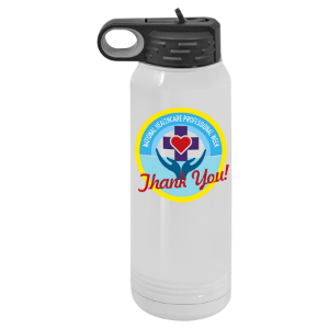 white polar camel water bottle