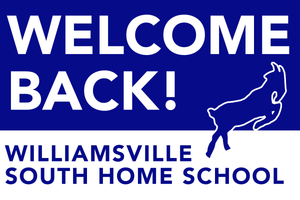 Lawn Sign - Welcome Back To Home School - Williamsville South