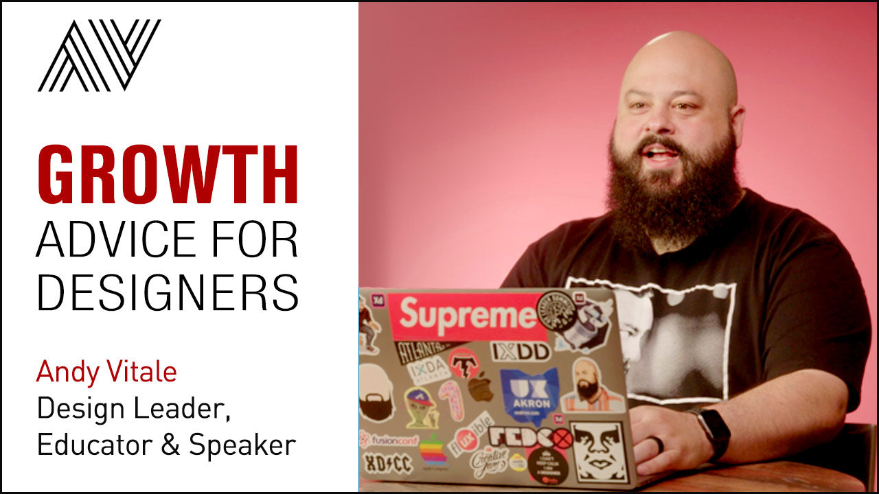 Andy Vitale Expert Growth Advice For Designers