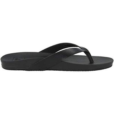 Reef Cushion Bounce Court Black Flip Flops for Women, 7 M US