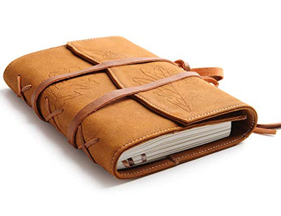 Vegan Leather Journal Refillable Writing Diary