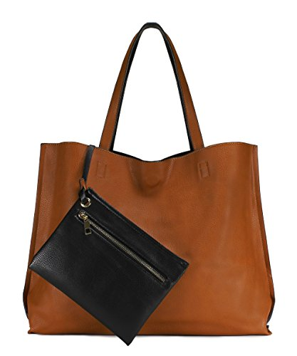 Scarleton Stylish Reversible Tote Handbag