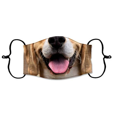 Funny Dog Printed Face Mask