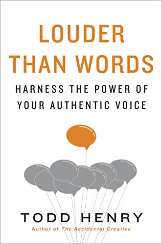 Louder than Words - Book by Todd Henry