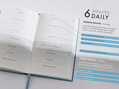 The 6-Minute Diary  | Journal for More Mindfulness, Happiness and Productivity