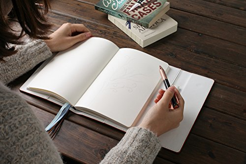 Tree of Life Refillable Personal Diary - Brown Vegan leather Notebook