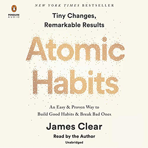 Atomic Habits Book from James Clear