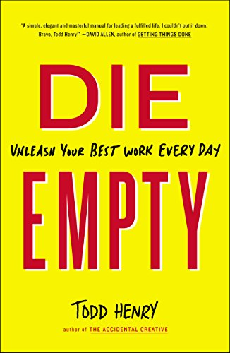 Die Empty - Book by Todd Henry