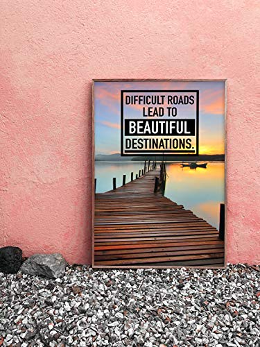 Motivational Posters & Inspirational Wall Art for Office or Home