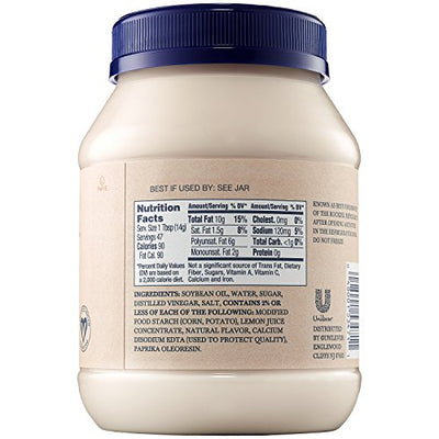Hellmann's Vegan Dressing and Sandwich Spread, Carefully Crafted 24 oz
