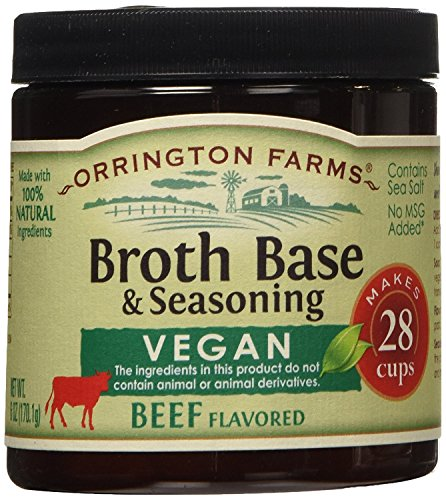 Orrington Farms - Vegan Beef Flavored Broth Base, 6 oz. (Pack of 3)