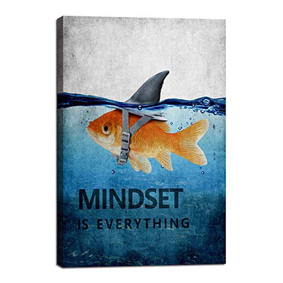 Mindset is Everything Wall Art