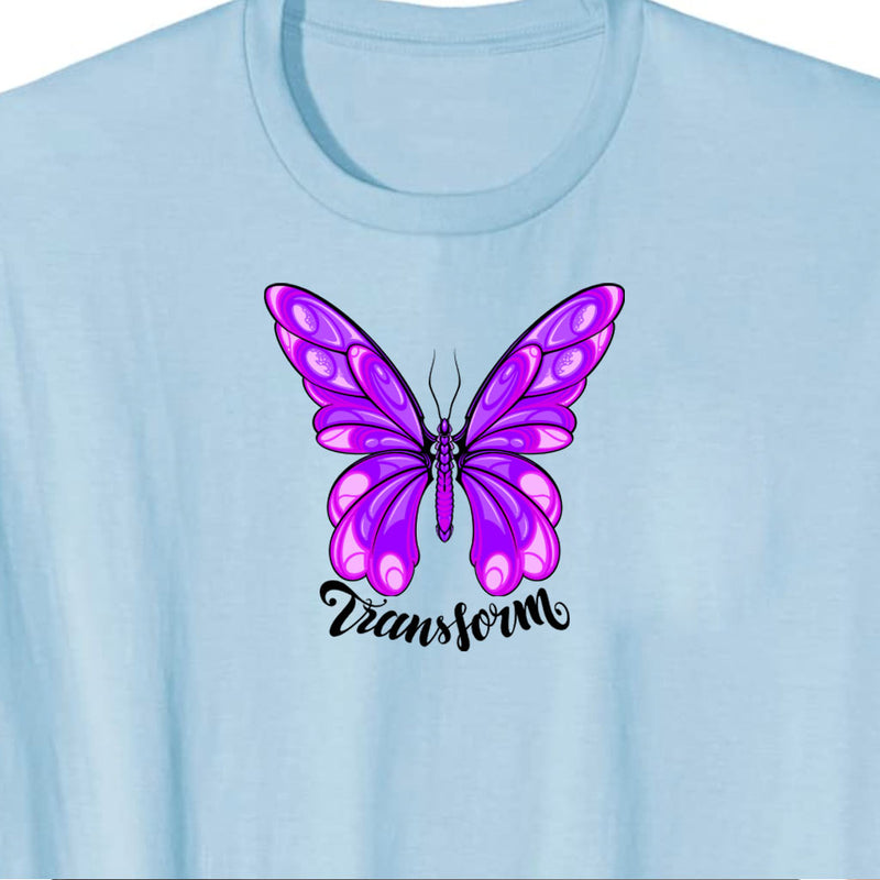 Butterfly Transform - Growth T-Shirt
