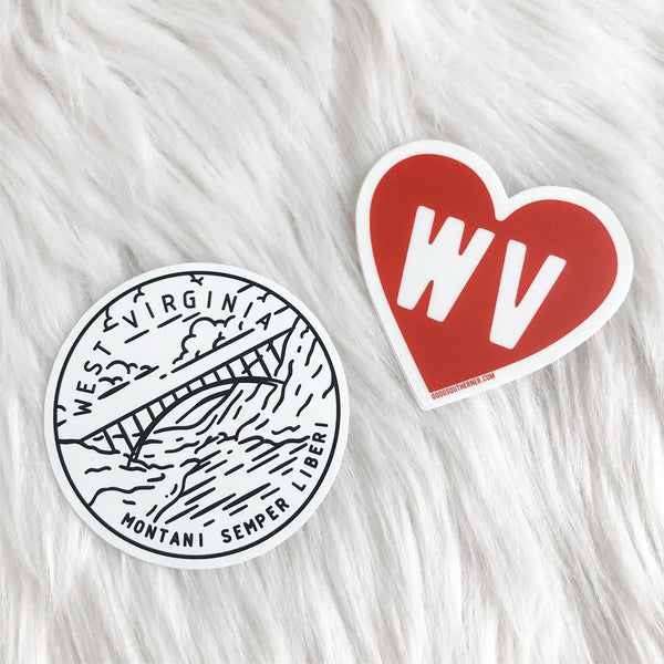 WV Stickers