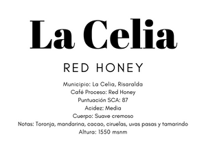 La Celia red honey #blackRibbon