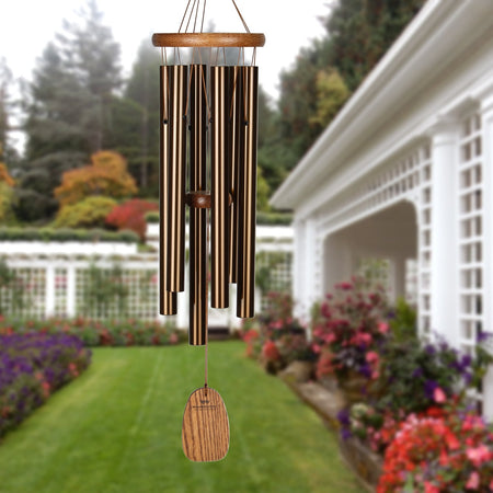 Amazing Grace Chime - Medium, Bronze musical scale