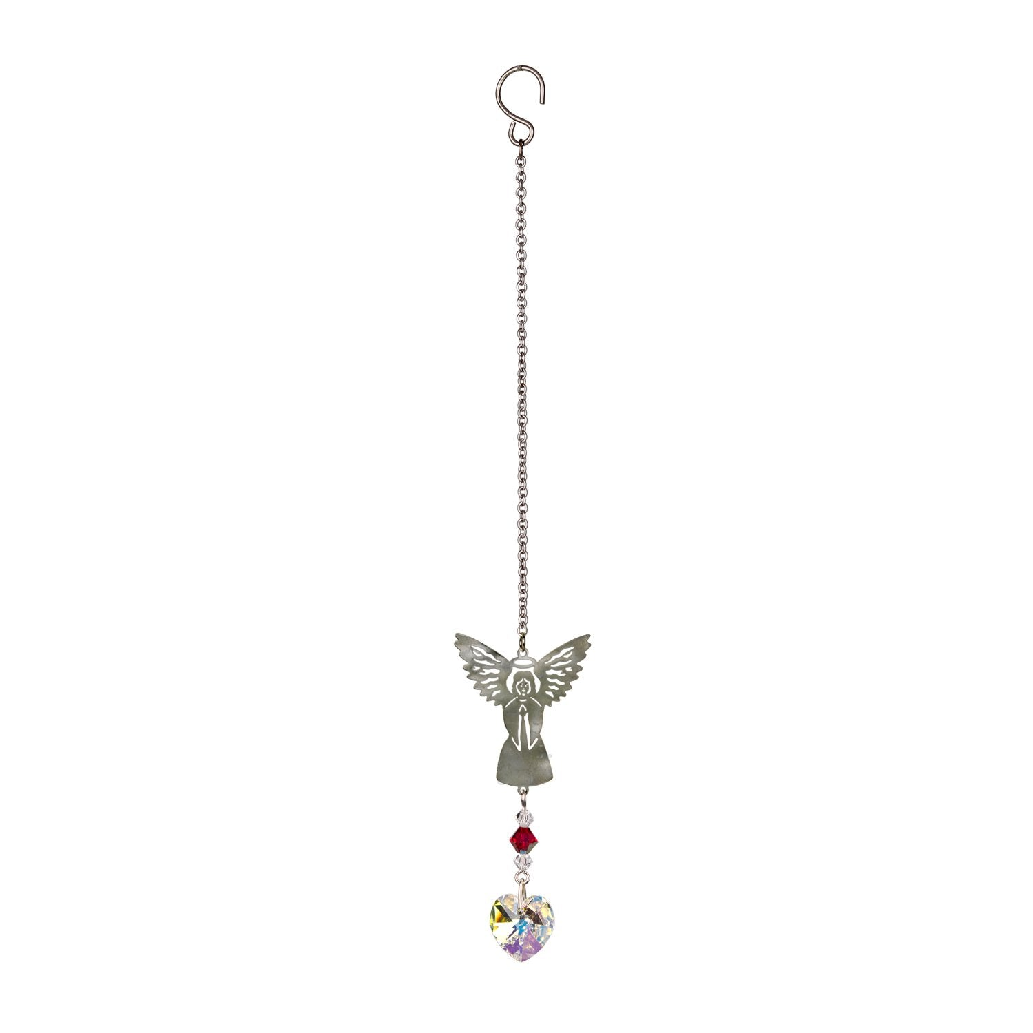 Birthstone Angel Crystal Suncatcher - July full product image