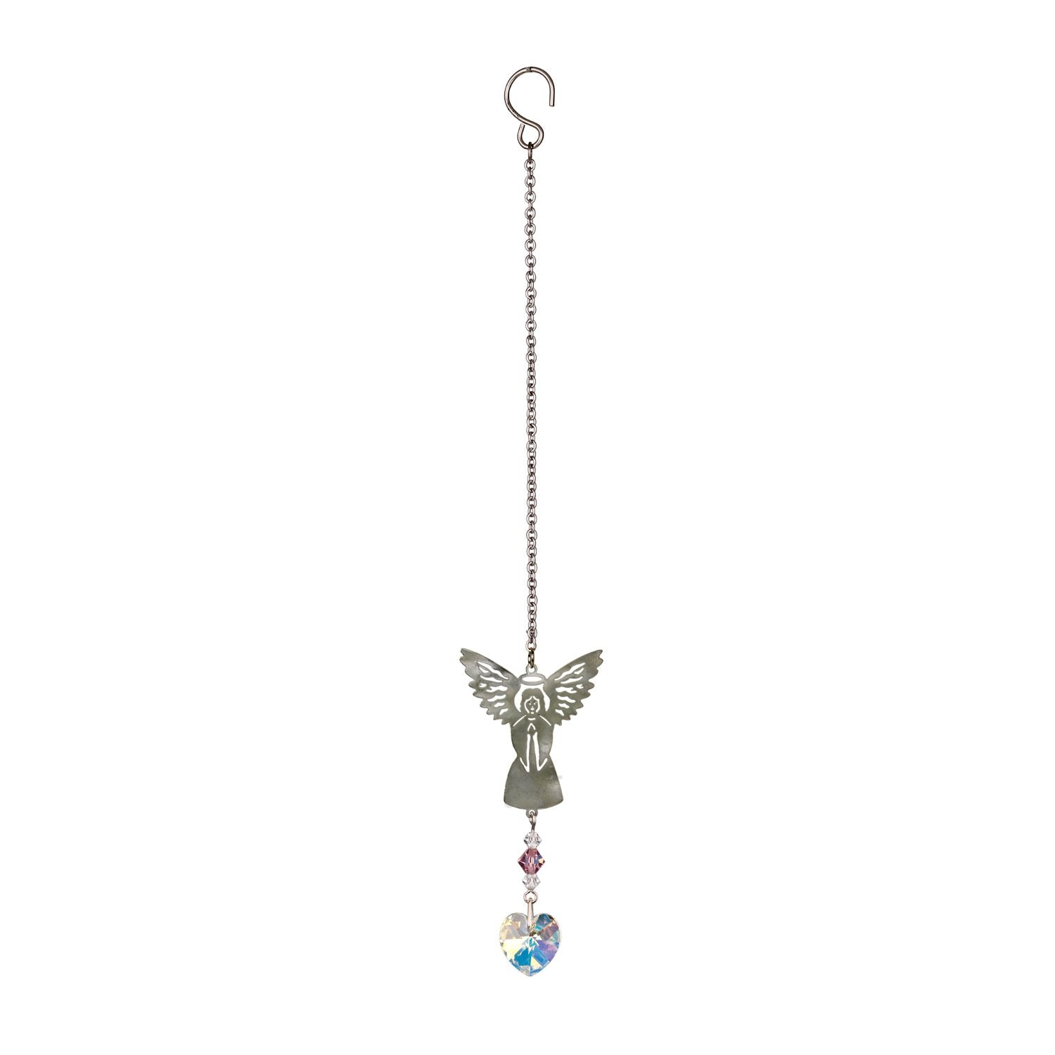 Birthstone Angel Crystal Suncatcher - June full product image