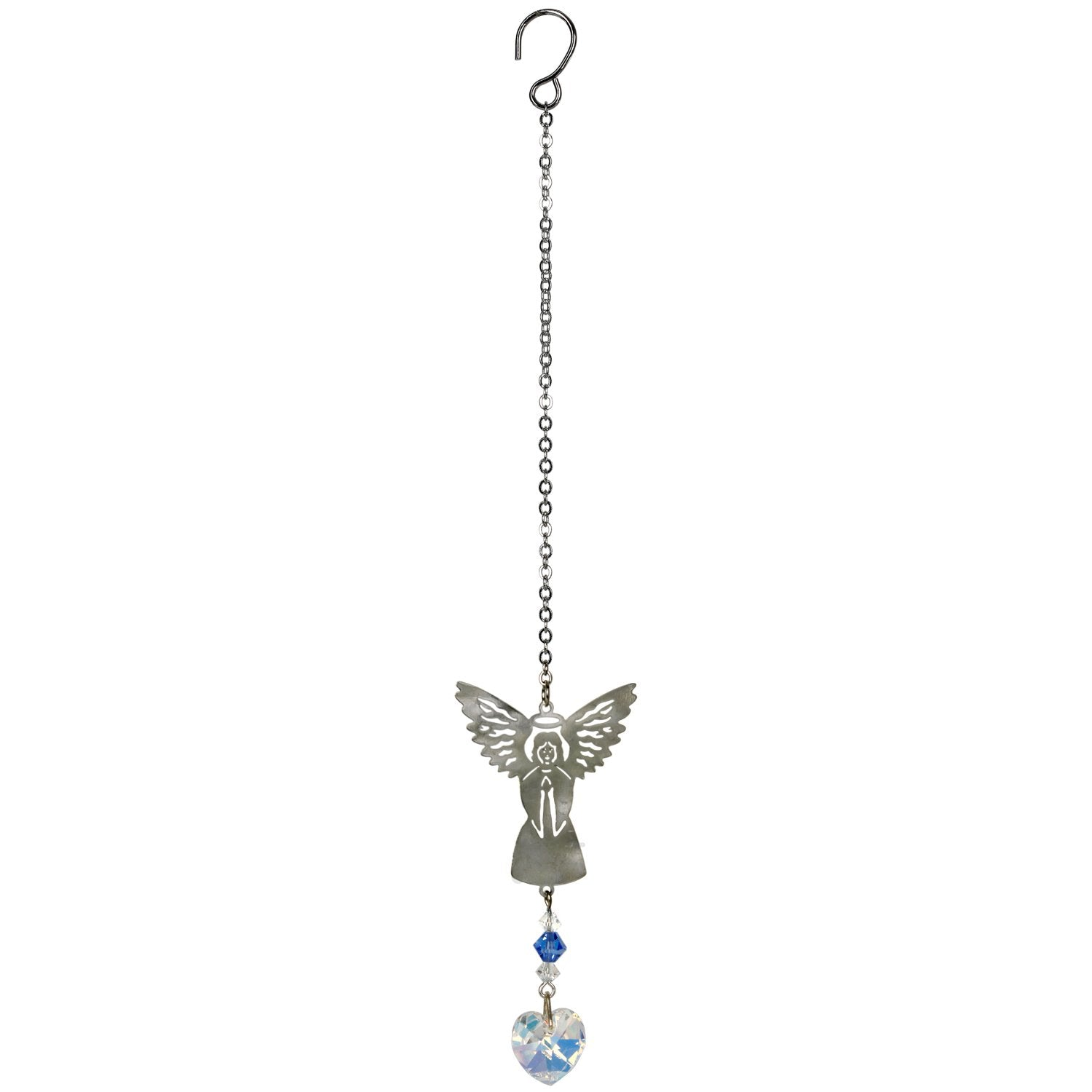 Birthstone Angel Crystal Suncatcher - September full product image