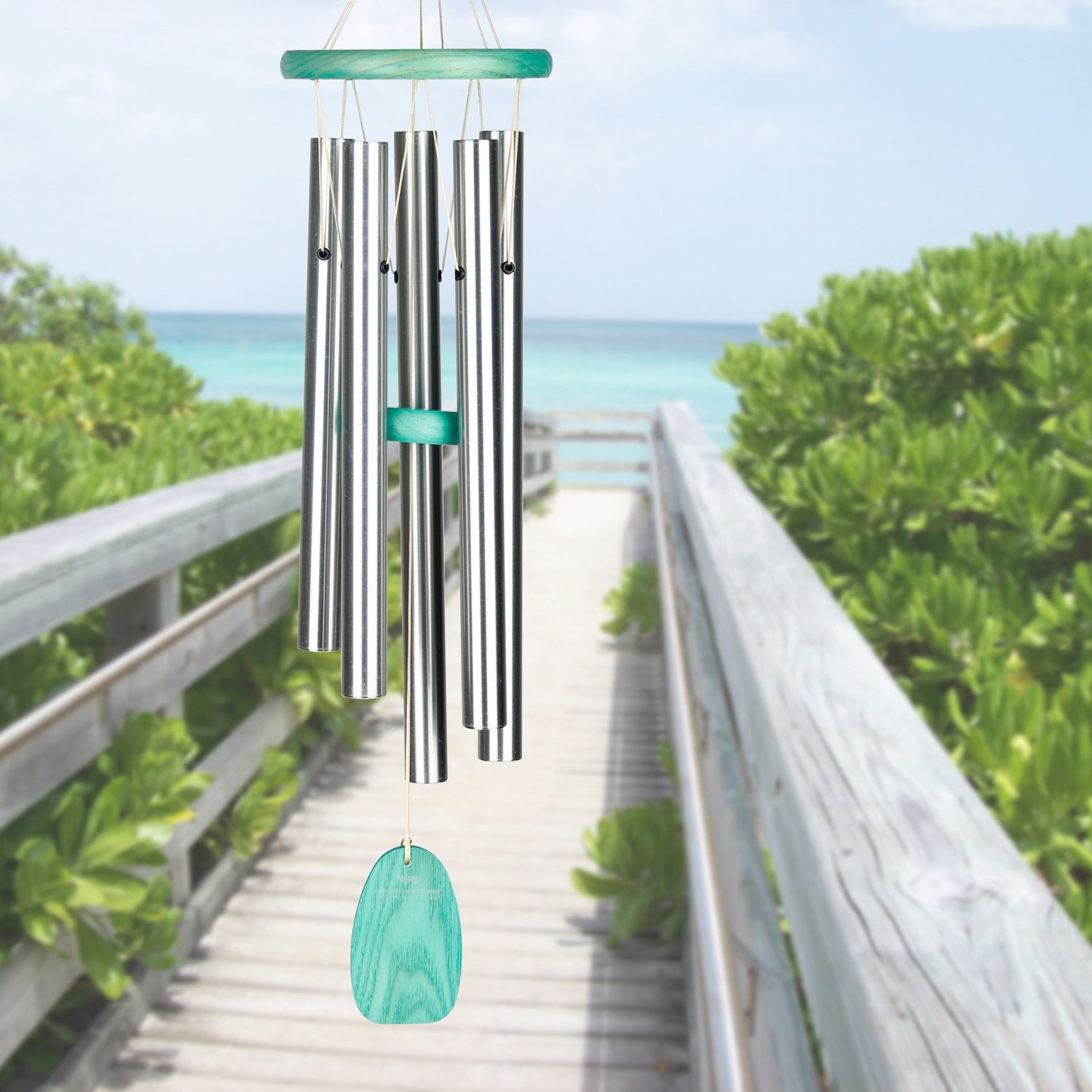 Beachcomber Chime - Gracious Green lifestyle image