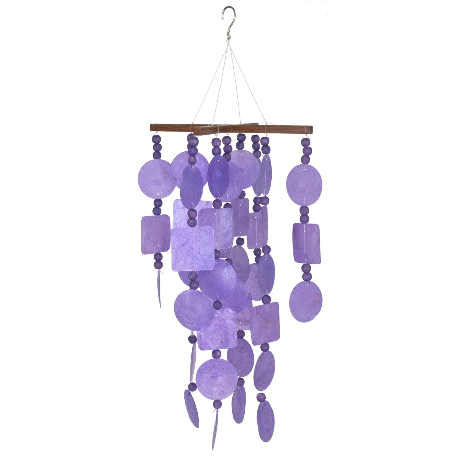 Capiz Chime - Purple full product image