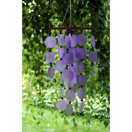 Capiz Chime - Purple proportion image