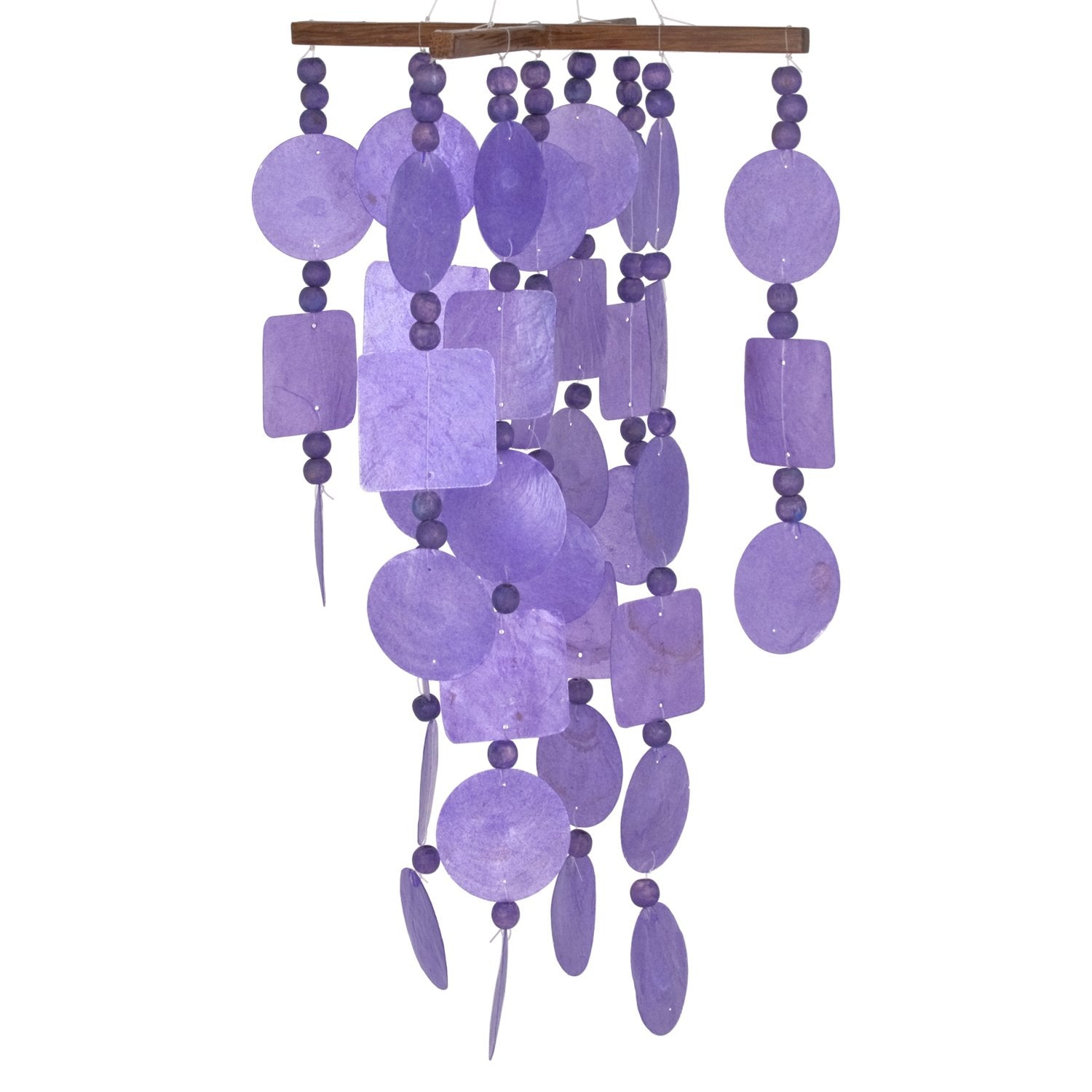 Capiz Chime - Purple main image