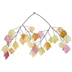 Capiz Chime - Autumn Leaves main image