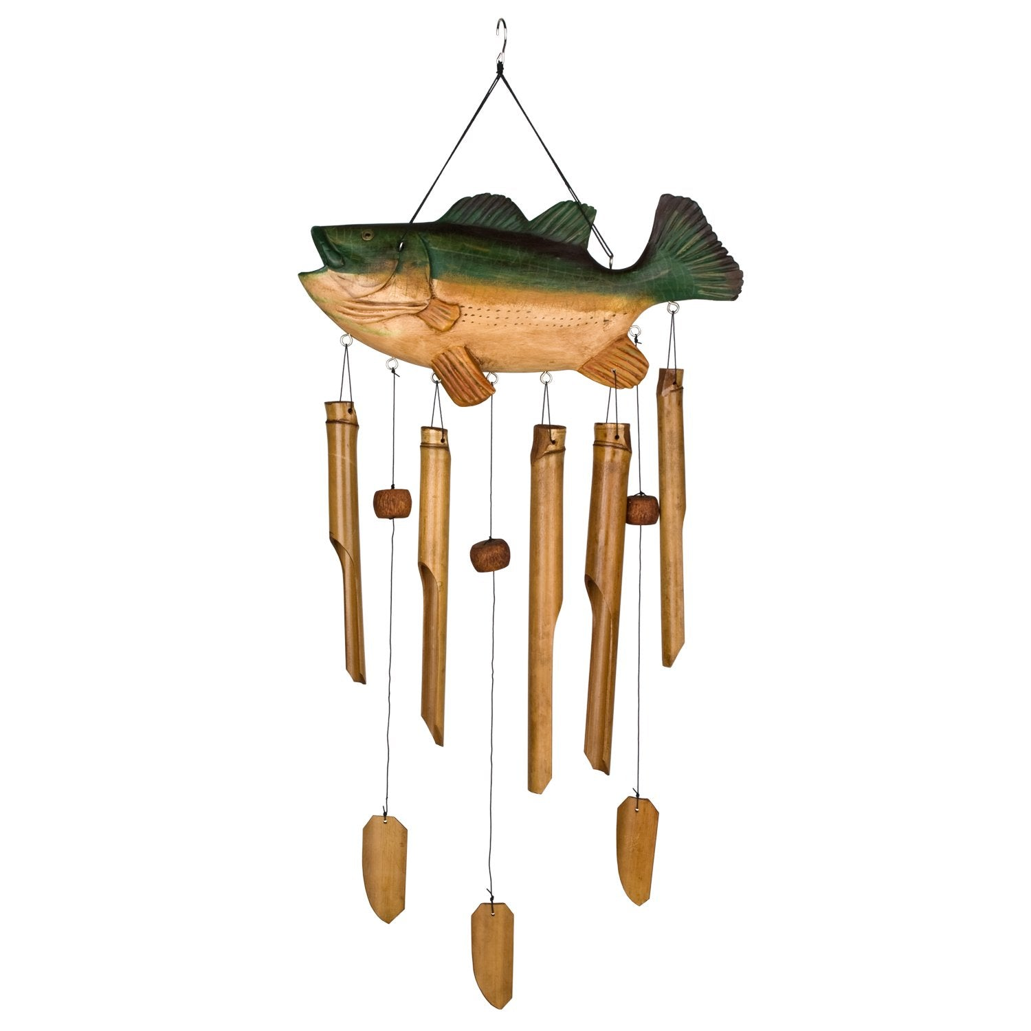 Animal Bamboo Chime - Bass Fish full product image